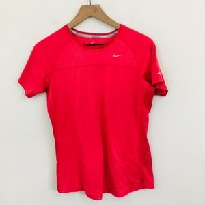 Nike Red Athletic Running T-Shirt